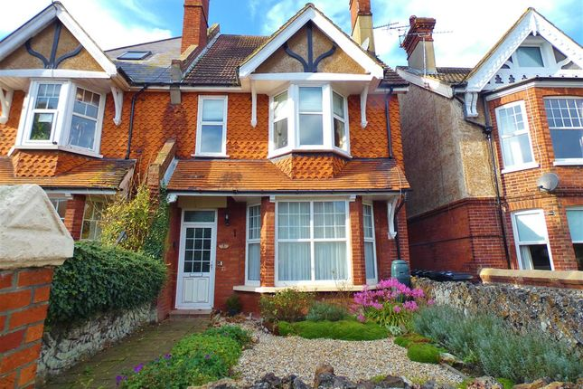 Thumbnail Semi-detached house for sale in Willingdon Road, Eastbourne