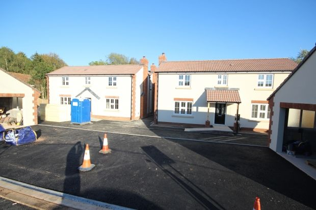 Thumbnail Detached house for sale in Crown Lane, Creech Heathfield, Taunton