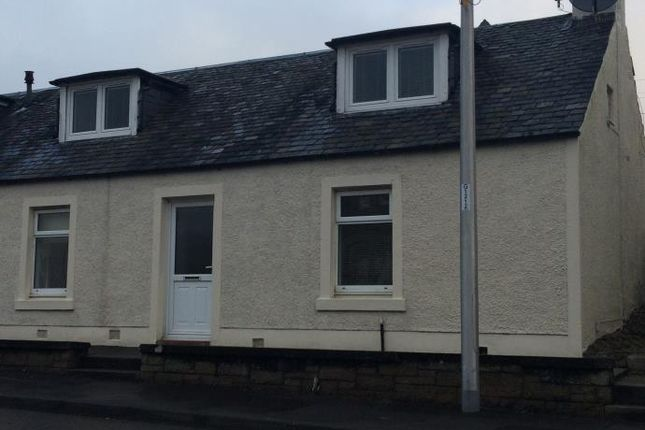 Thumbnail End terrace house to rent in Townhead, Auchterarder