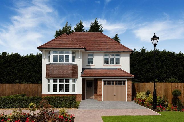 Thumbnail Detached house for sale in Off Woodgate Drive, Chellaston, Derby
