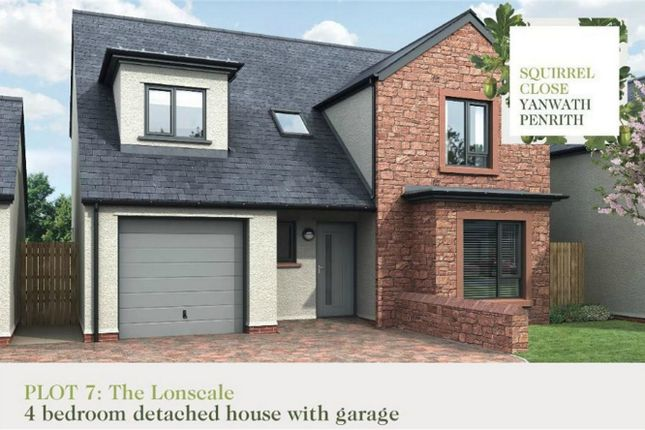 Thumbnail Detached house for sale in Plot 7 Squirrel Close, Yanwath, Penrith