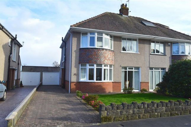 Thumbnail Semi-detached house for sale in Mayals Avenue, Mayals, Swansea