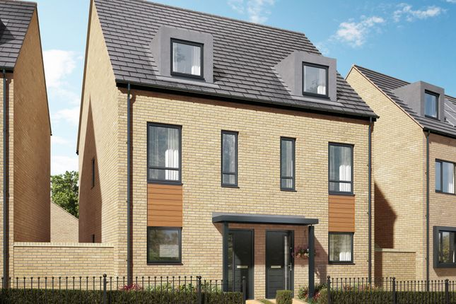 """Thumbnail Semi-detached house for sale in """"The Greetham"""" at Holden Avenue, Oxley Park, Milton Keynes"""