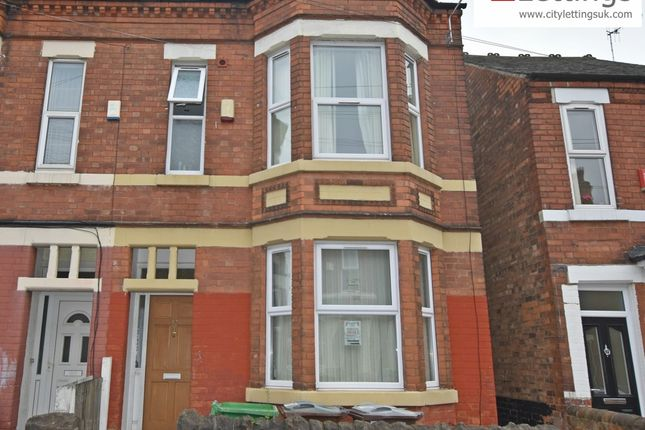 Thumbnail Terraced house to rent in Johnson Road, Nottingham