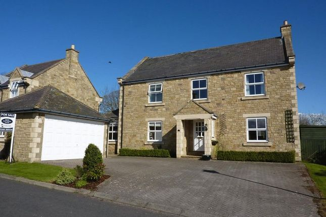 Thumbnail Detached house for sale in The Oaks, Matfen, Newcastle Upon Tyne