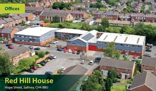 Office to let in Red Hill House, Hope Street, Saltney