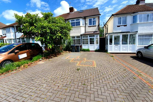 Thumbnail Semi-detached house to rent in Nevin Grove, Perry Barr, Birmingham