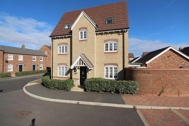 Thumbnail Detached house for sale in Crouch Gardens, Kempston