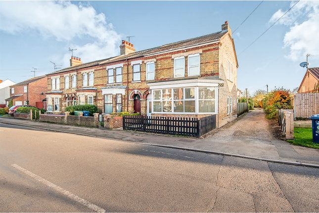 Thumbnail End terrace house for sale in Victoria Road, Wisbech