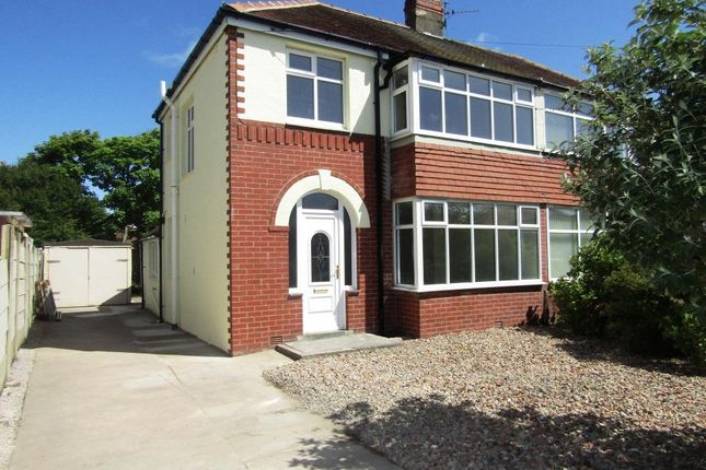 Thumbnail Semi-detached house to rent in Westmorland Avenue, Thornton Cleveleys