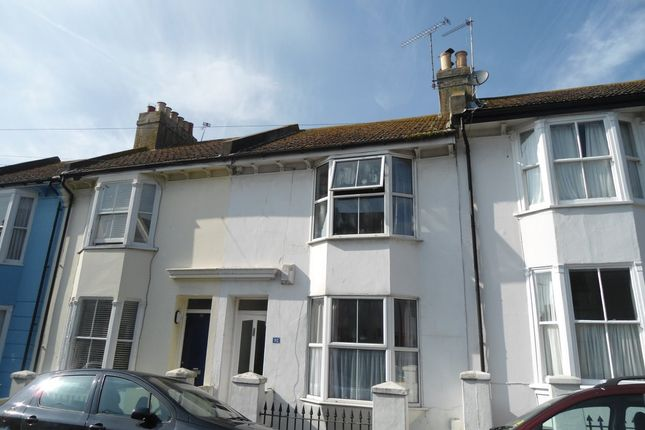 Thumbnail Terraced house to rent in Hanover Terrace, Brighton