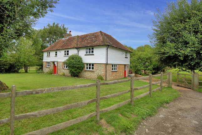 Thumbnail Equestrian property for sale in Gibbons Brook, Sellindge, Ashford