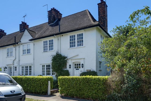 Thumbnail End terrace house for sale in Erskine Hill, Hampstead Garden Suburb, London