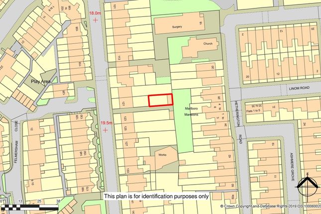 Land At 121 Bedford Road, Clapham North, London SW4