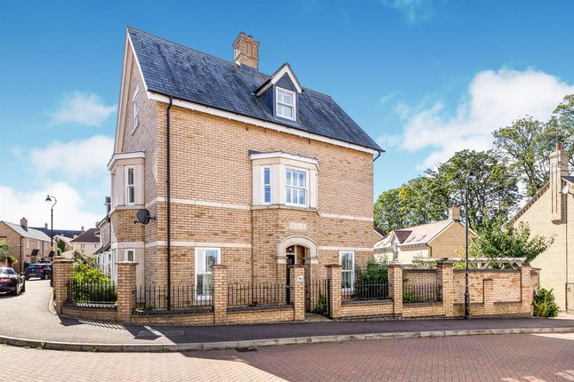Thumbnail End terrace house for sale in Livingstone Way, Fairfield, Hitchin