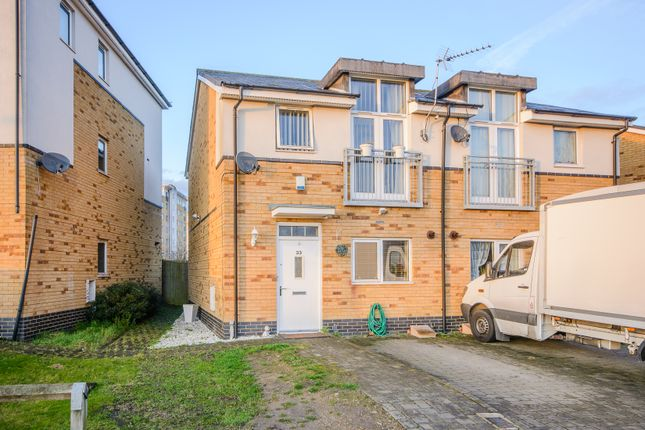 Thumbnail Semi-detached house for sale in Brazier Crescent, Northolt