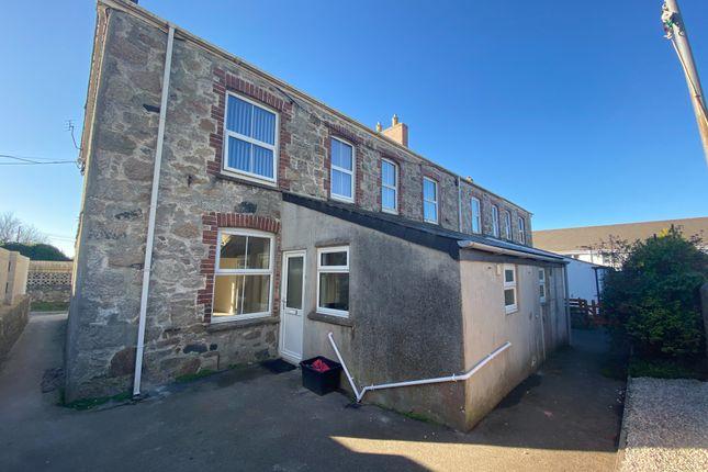 Thumbnail Flat to rent in Porthpean Road, St. Austell
