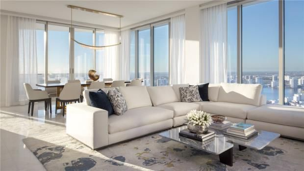 Thumbnail Apartment for sale in Jade Signature, 16901 Collins Ave, Sunny Isles Beach, Florida, 33160