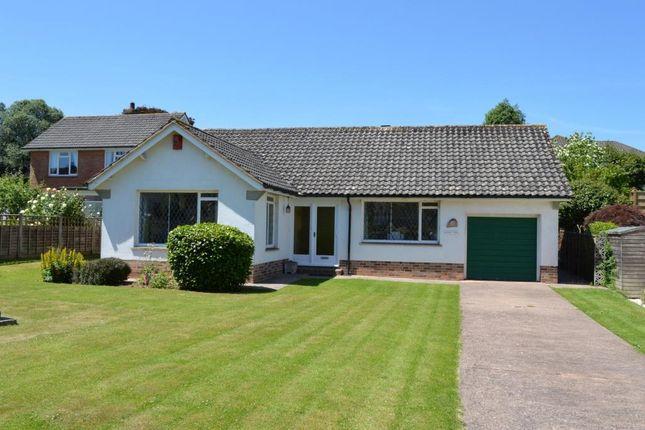 Thumbnail Detached bungalow for sale in Woolbrook Park, Sidmouth, Devon