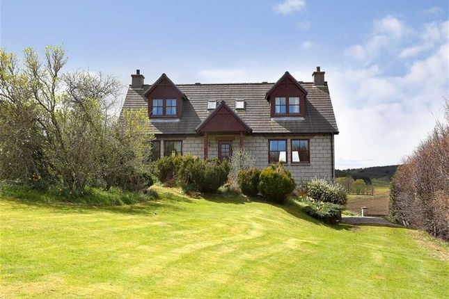 Thumbnail Detached house for sale in Lumphanan, Banchory