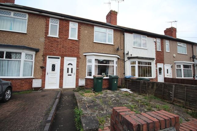 2 bed terraced house to rent in Tonbridge Road, Coventry CV3