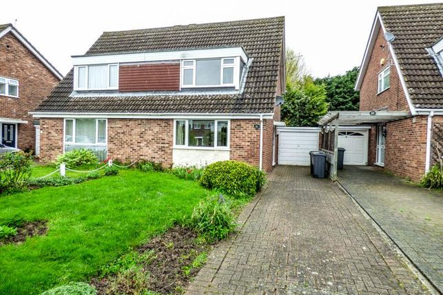 Thumbnail Semi-detached house for sale in Oakley, Beds