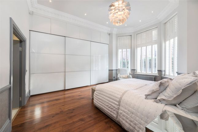 Master Bedroom of Eton Avenue, Belsize Park, London NW3