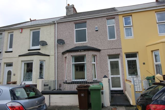 Thumbnail Terraced house to rent in Evelyn Street, St Budeaux, Plymouth