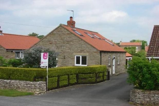 Thumbnail Detached bungalow to rent in South Back Lane West Terrington, York