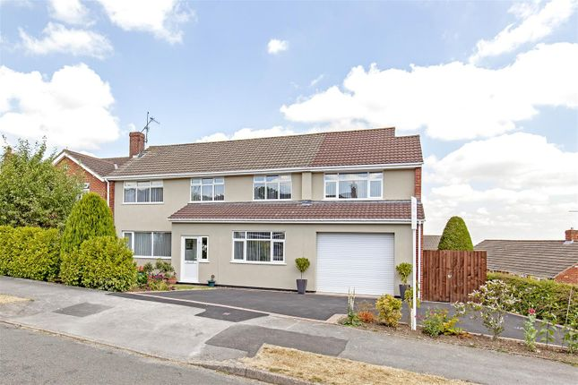 Thumbnail Detached house for sale in Wrenpark Road, Wingerworth, Chesterfield