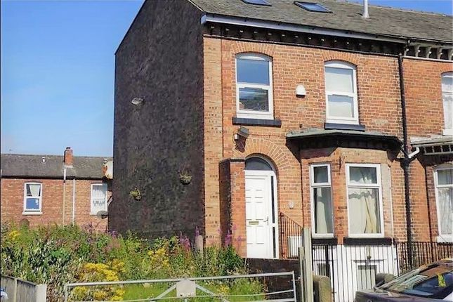 Thumbnail End terrace house to rent in Talbot Road, Manchester