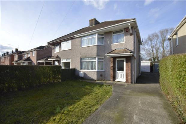 Thumbnail Semi-detached house for sale in Rossall Avenue, Little Stoke, Bristol