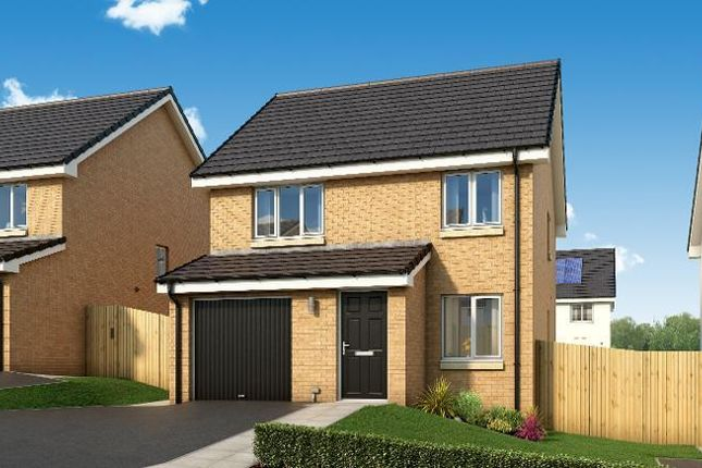 Thumbnail Detached house for sale in The Huntley Early Braes, Hallhill Road, Barlanark, Glasgow