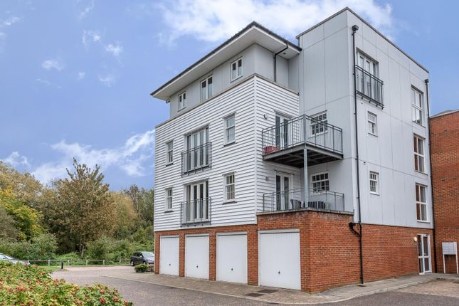 Thumbnail Flat for sale in Waters Edge, Canterbury