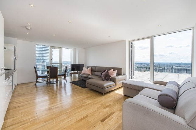 Thumbnail Block of flats to rent in Ability Place, Canary Wharf