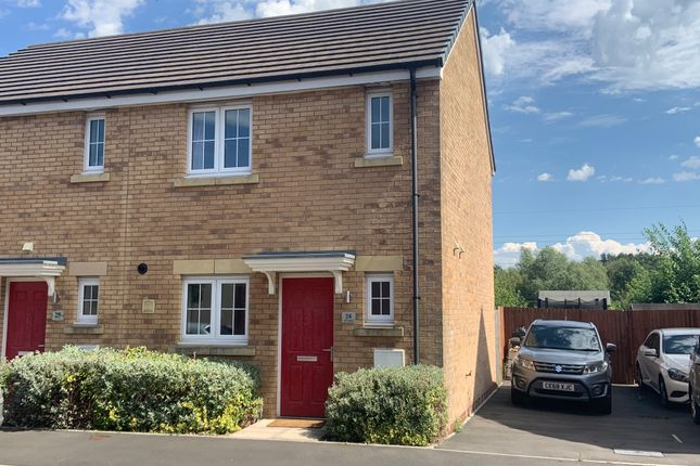 Thumbnail End terrace house for sale in Parc Panteg, Griffithstown, Pontypool