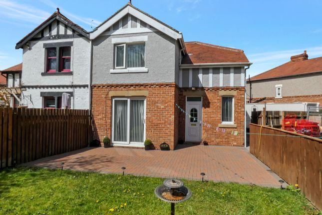 3 bed semi-detached house for sale in Park Villas, Ashington NE63