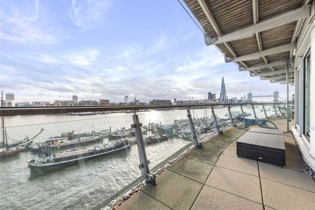 Balcony of Cinnabar Wharf West, 22, Wapping High Street, Tower Bridge E1W