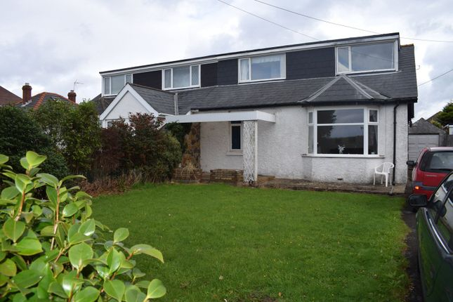 Thumbnail Semi-detached bungalow for sale in West Road, Nottage, Porthcawl
