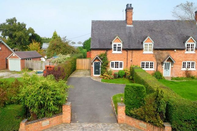 Thumbnail Semi-detached house for sale in Wrexham Road, Burland, Nantwich