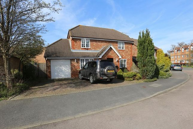 Thumbnail Detached house to rent in Marbull Way, Warfield, Bracknell