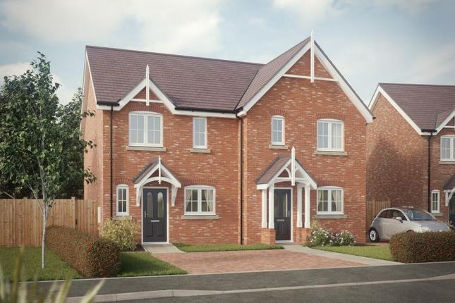Thumbnail Semi-detached house for sale in Shrewsbury Road, Baschurch, Shrewsbury