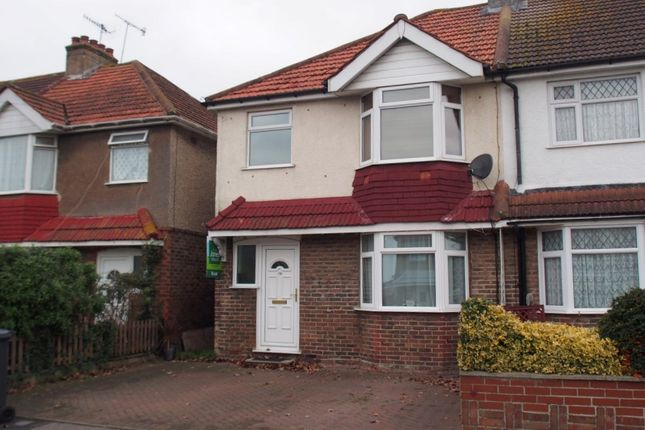 Thumbnail End terrace house to rent in First Avenue, Lancing