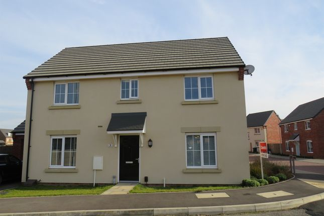 Thumbnail Detached house for sale in Downy Drive, Northampton