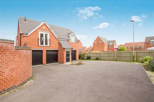 Thumbnail Semi-detached house to rent in Moulton Road, Hamilton, Leicester
