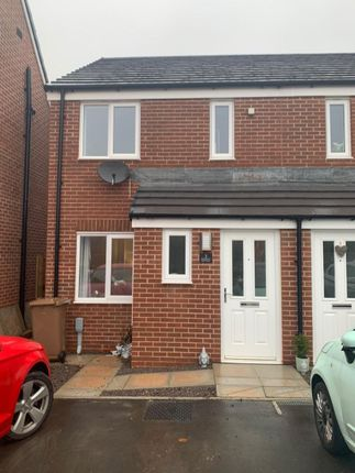 2 bed semi-detached house to rent in Cae'r Hen Dy, Oakdale, Blackwood NP12