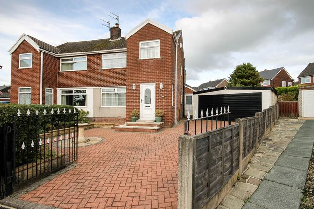 Semi-detached house for sale in Bardsley Close, Bolton