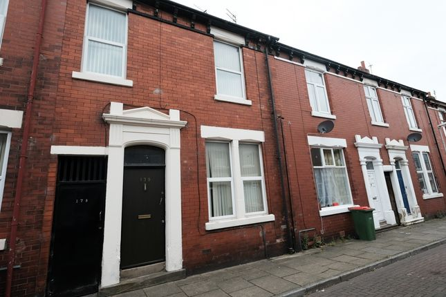 Thumbnail Terraced house to rent in Emmanuel Street, Preston
