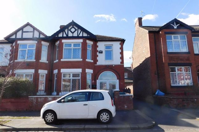 4 bed semi-detached house for sale in Scarsdale Road, Victoria Park, Manchester M14
