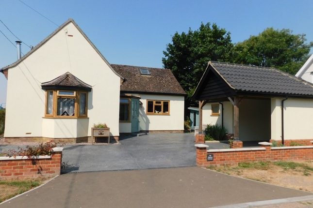 Thumbnail Detached bungalow for sale in Old Station Road, Mendlesham, Stowmarket